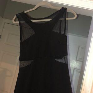 Long black formal dres